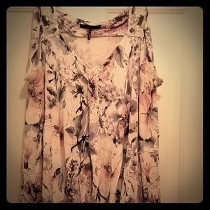 Floral Abstract Tank